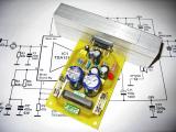 Изработениот прототип од 50W засилувач со TDA1514A