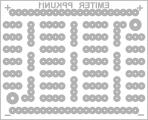 Дизајнот на ППКУни1 (поглед од горе) како основа за цртање монтажни шеми