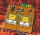 Изработениот прототип на визуелната контрола на мрежен напон