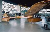 Едрилица Чавка во Музејот на воздухопловството во Белград