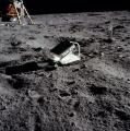 Ретрорефлекторот поставен на површината од Месечината