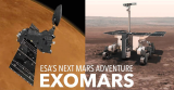 Двете фази од мисијата ЕгзоМарс на ЕСА - орбитерот ТГО и роверот ЕгзоМарс