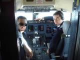 Во внатрешноста на пилотската кабина