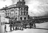 Едрилицата Врабец со стручниот летачки кадар низ улиците на Скопје по повод III Кoнгрес  на СКЈ