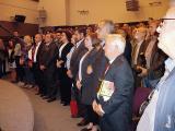 Фестивалот започна со интонирање на македонската химна