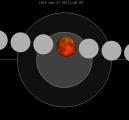 Текот на лунарната еклипса од 21 јануари 2019 година - извор Википедија
