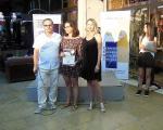 Врачување на првата награда и признание за Ангела Зацевска