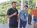 Обраќање на Велјан Ѓорѓиов, тим лидерот на младиот четиричлен тим од Македонија што минатиот месец учествуваше на меѓународниот YOTA камп во Бугарија
