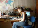 Одржување радиоврски со користење морзеова азбука