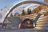 Влез во тунелот од италијанската страна.