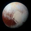 Плутон виден низ окото на Нови Хоризонти
