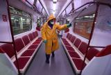 Дезинфекција на површините во јавниот транспорт