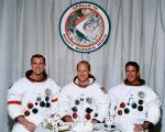 Екипажот на Аполо 15 – Дејвид Скот, Алфред Ворден и Џејмс Ервин