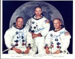 Службениот портрет на екипажот на Аполо 11 пред тргнување на пат кон Месечината