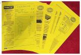 Страници од пробниот, работниот отпечаток на списанието