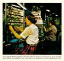 Сè до педесттите години од минатиот век поврзувањето на разговорите се врши рачно со посредство на луѓе вработени како телефонски оператори