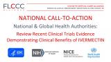 Алијансата FLCCC ги повикува националните и глобалните здравствени власти да ги разгледаат доказите за делотворноста на ивермектинот против ковид-19.