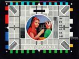 Тест шпицата на BBC којашто најавува дека следи ТВ-програма во боја