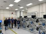 Машината од Микросам инсталирана во Лабораторија за напредни технологии на воздухопловни систем при институтот НИАР во Вичита