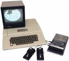 Типична Apple II конфигурација од 1977 година