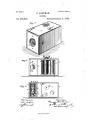 Патентниот цртеж за камера со филмска ролна на Истман