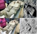 Слика 4: Вселенското одело кое го носел Нил Армстронг на Месечината.
