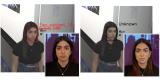 Во случајот прикажан лево ВИ лесно го препознава лицето. Но, ова не е случај кога ќе се нанесе малку шминка (лево)